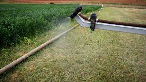 O tamanho da gota ideal para aplicação de defensivos agrícolas