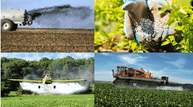 tipos de Aplicação dos fertilizantes