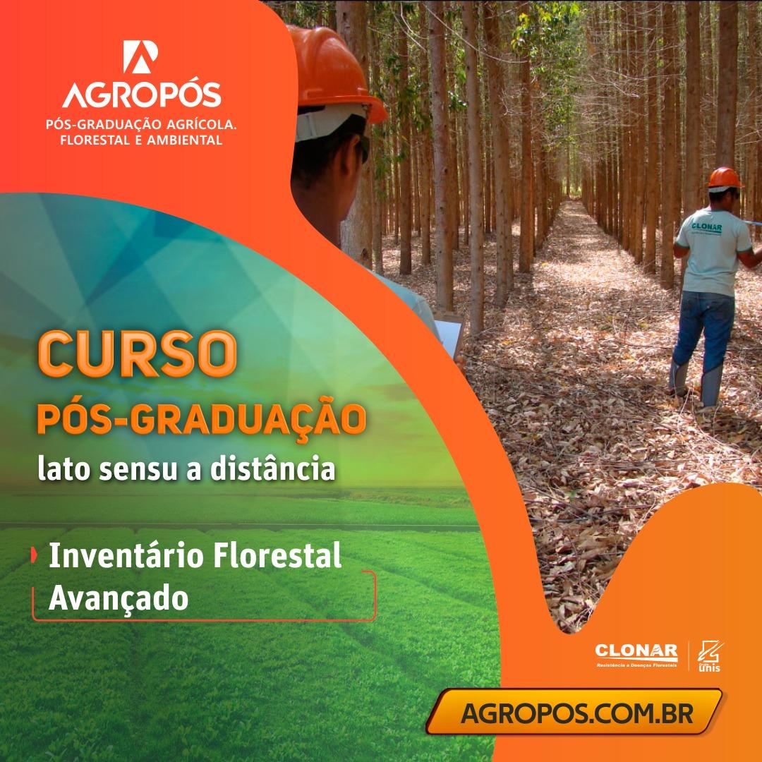 Pós-graduação em inventário florestal