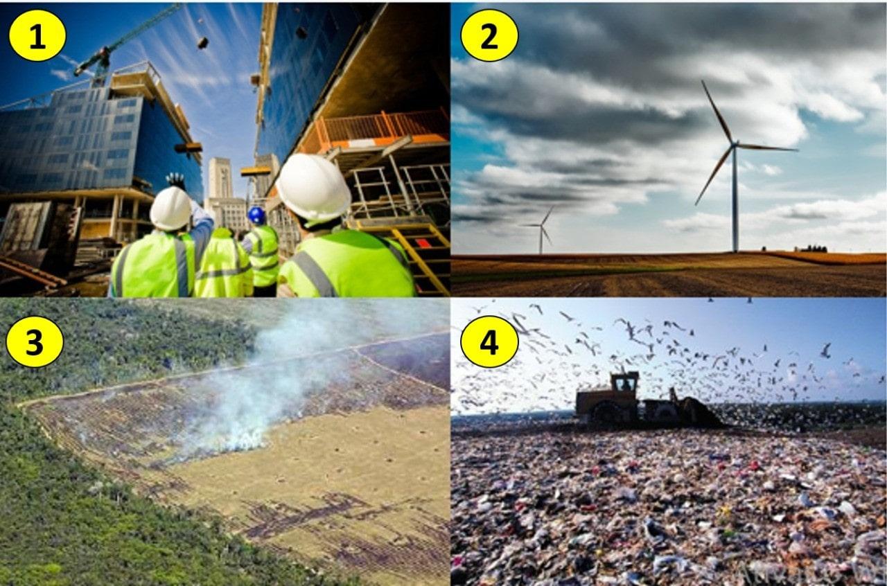 Atividades causadoras de impactos ambientais