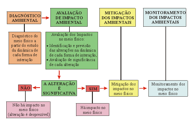 IMPACTOS AMBIENTAIS: DIRETRIZ PARA EIA E RIMA