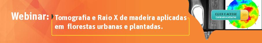 Tomografia e Raios X de Madeira Aplicadas em Florestas Urbanas e Plantadas