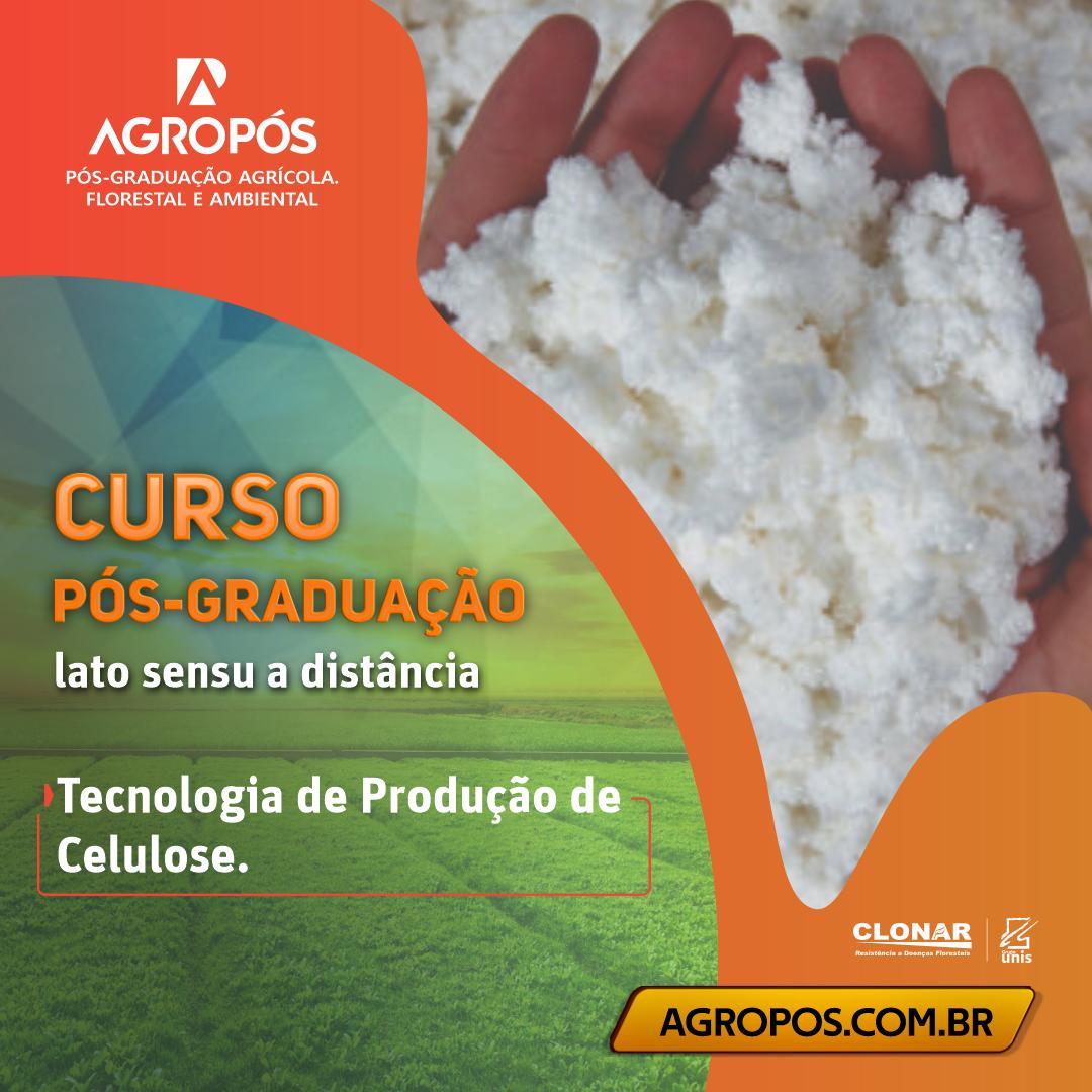 pós-graduação em Tecnologia de Produção de Celulose