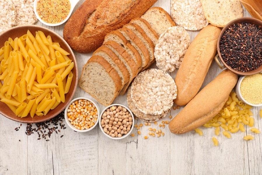 Alimentos feitos de trigo