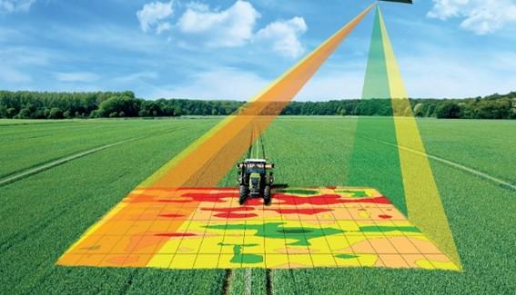 Imagem de satélite na agricultura