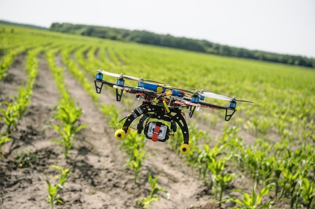Tecnologias no campo - Drones na Agricultura