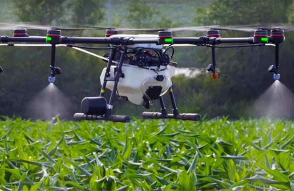 Drones de Pulverização