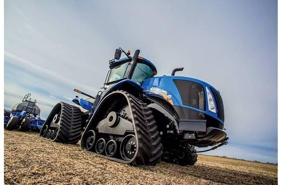 Trator-Agrícola-New Holland
