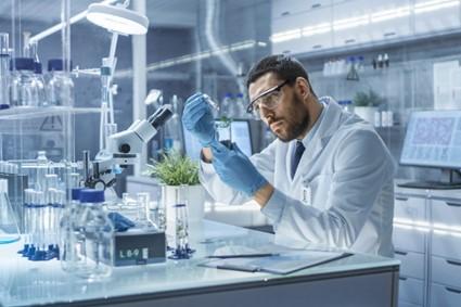 Biólogo no Laboratório