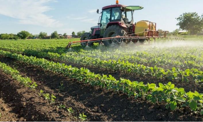 Aplicação dos pesticidas