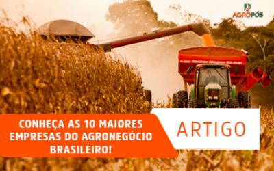 Conheça as 10 Maiores Empresas do Agronegócio Brasileiro!